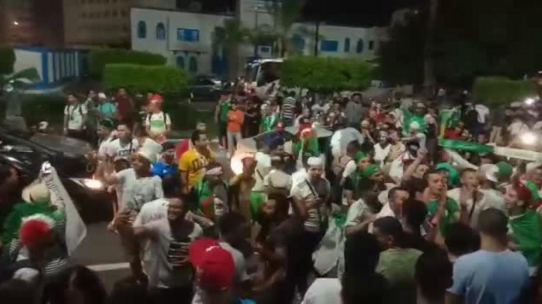 Qualification de l'Algérie en demi: La rue prend feu à Alger