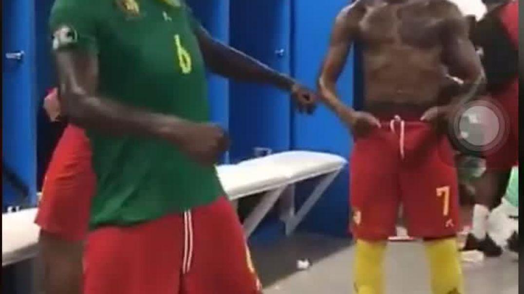 Ambrouse Oyongo et Clinton Njie se lâchent