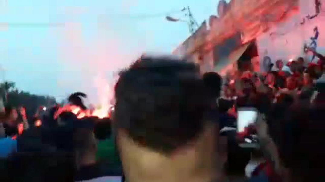 Les Fennecs en demi: Le peuple algériens en liesse