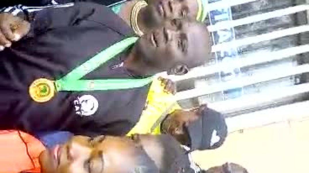 Cameroun: Accueil des arbitres de la finale de CAN 2019