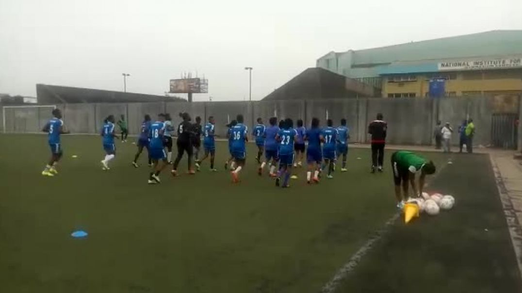 NWPL: Delta Queens Training Session For Their Match Day 4 Encounter With FC Robo