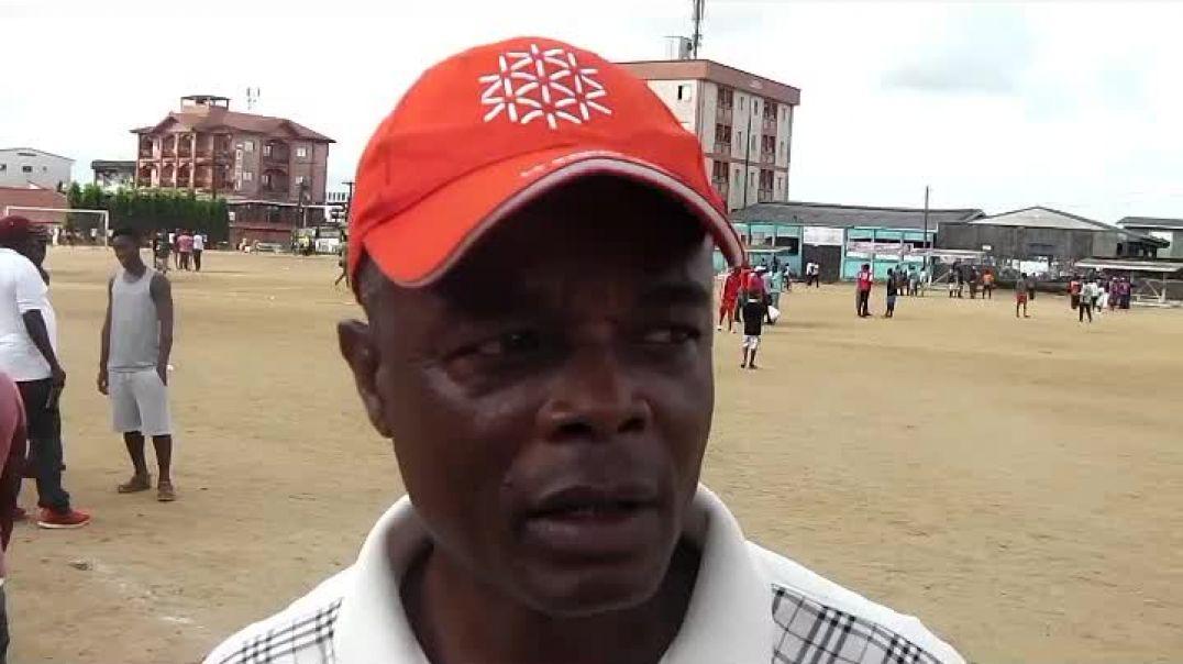 [Tournoi Fair play 2019 ] Théophile Finkou le foot manque a Douala  par vincent kamto