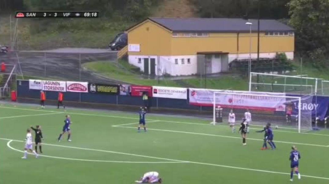 Le 9e but de Ntchout Njoya en Norvège avec Valerenga