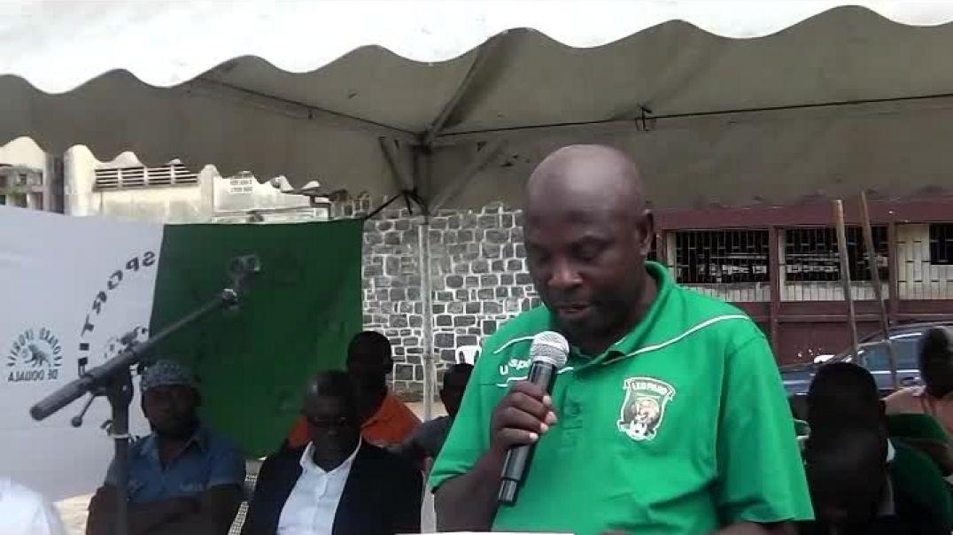 Congrès de léopard de Douala] présentation des joueurs de léopard 2019 - 2020  par Vincent Kamto