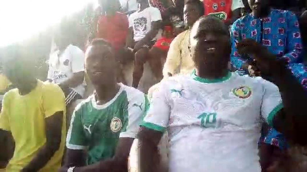 ESAE vs Génération Foot. Les sénégalais étaient aussi présents. Trinité Singbo