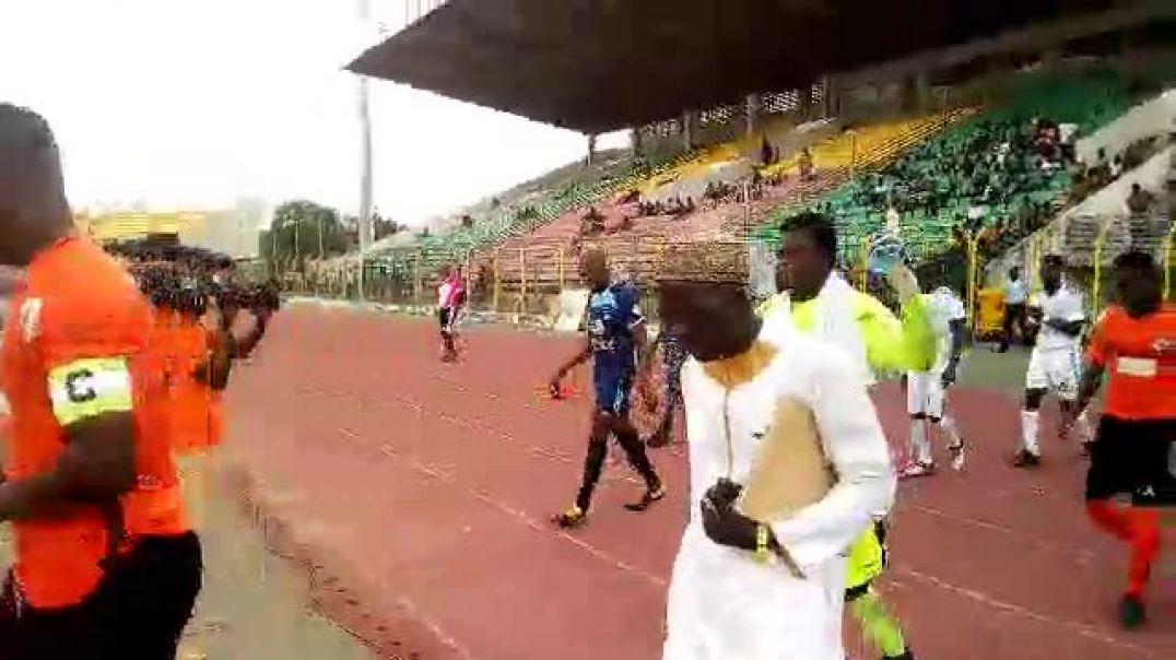 Dragons FC - AS Tonnerre, Ligue 1. Trinité Singbo