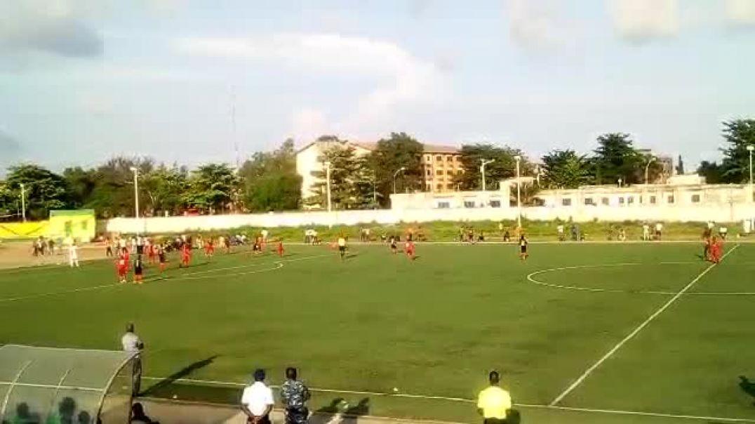 Energie vs Dragons fc, ligue 1 béninoise. Trinité Singbo