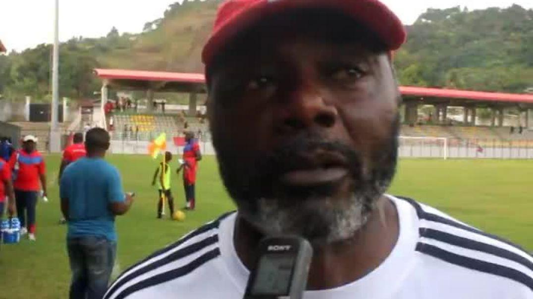 Dieudonné nke Coach de Ums  s indigne sur la prestation des arbitres Par Vincent Kamto