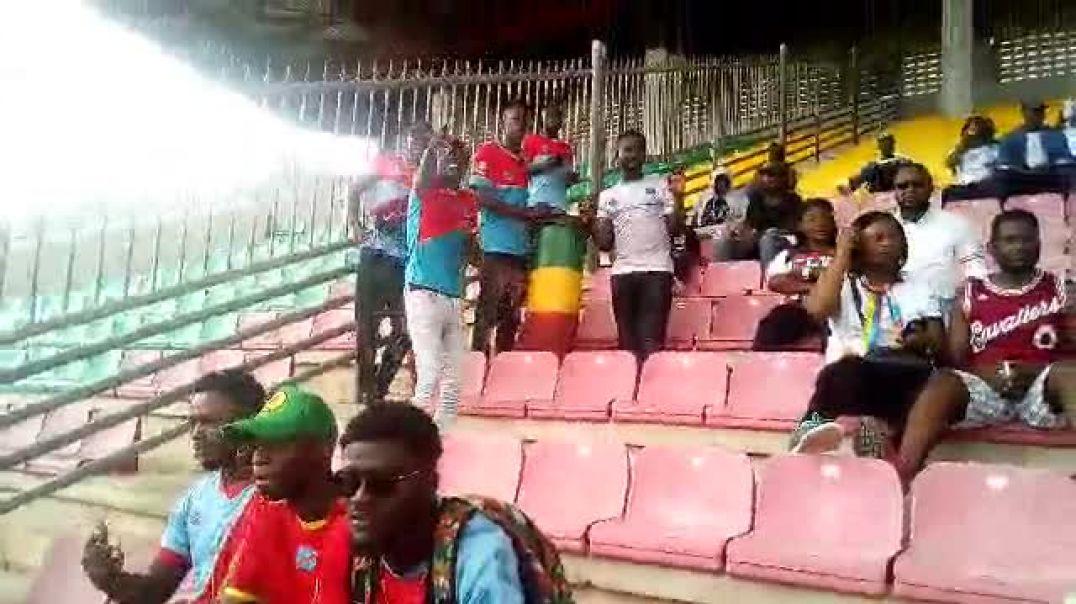 Face à ESAE FC, le Kinois étaient aussi au rendez-vous. Trinité Singbo