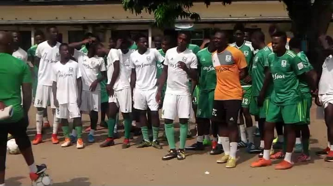 Séance d Entrainement de l Union Sportive de Douala du 27 Décembre 2019 par Vincent Kamto.