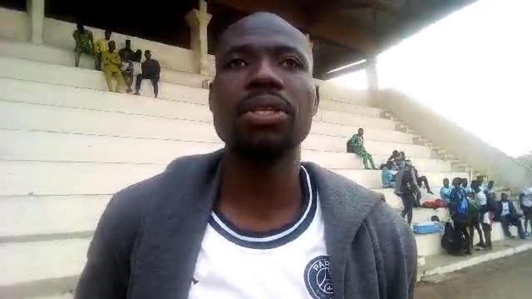 Christian Kotchoni après son but contre JAC. Trinité Singbo