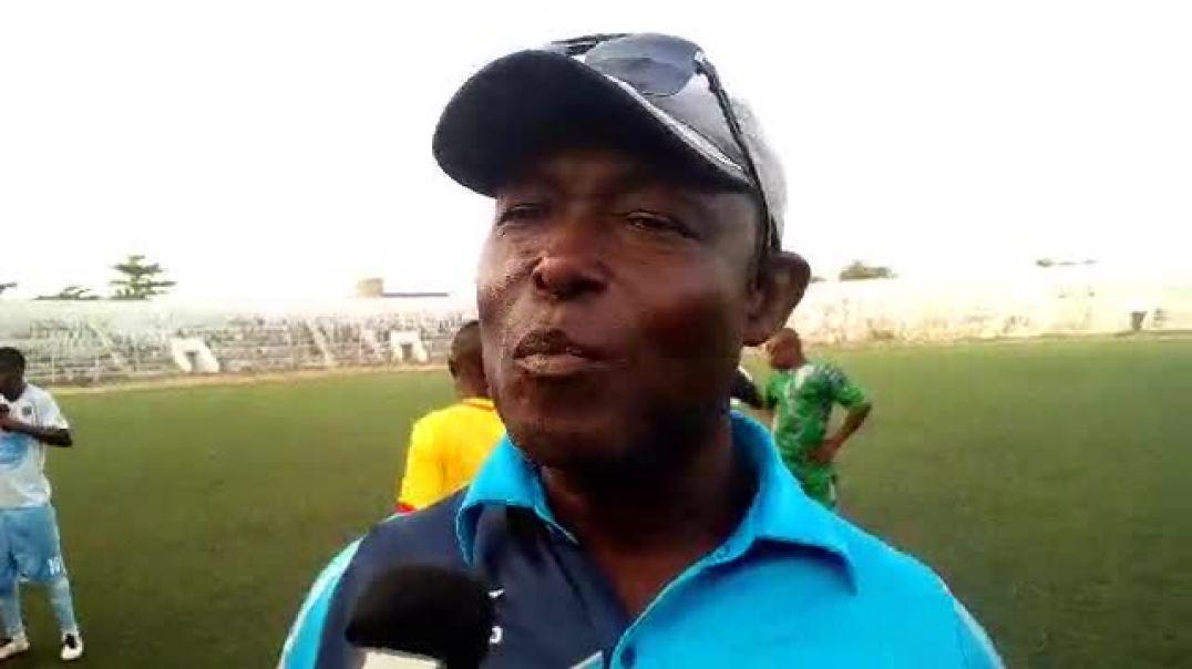 Le coach de USSK après sa défaite