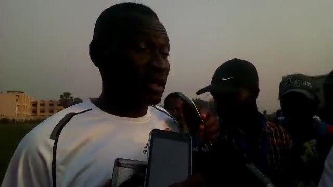 Défait par Energie FC, Idrissou Moutari s'est pronncé à la fin du match. Trinité Singbo
