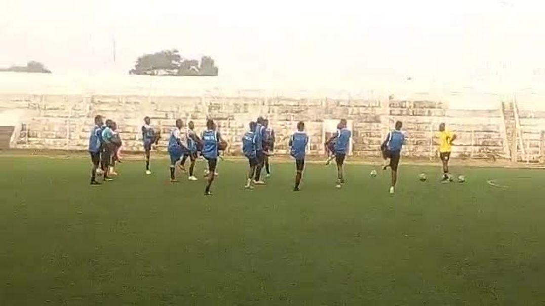 ESAE FC à l'entrainement. Trinité Singbo