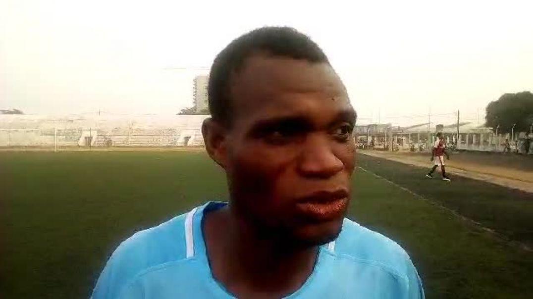 Affissou Fayemi après la victoire in extremis de son club. Trinité Singbo