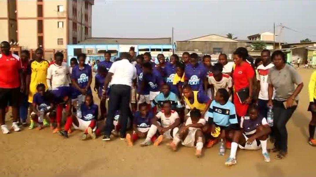 c était lundi a Douala stade cicam visite de la fifa par Vincent Kamto