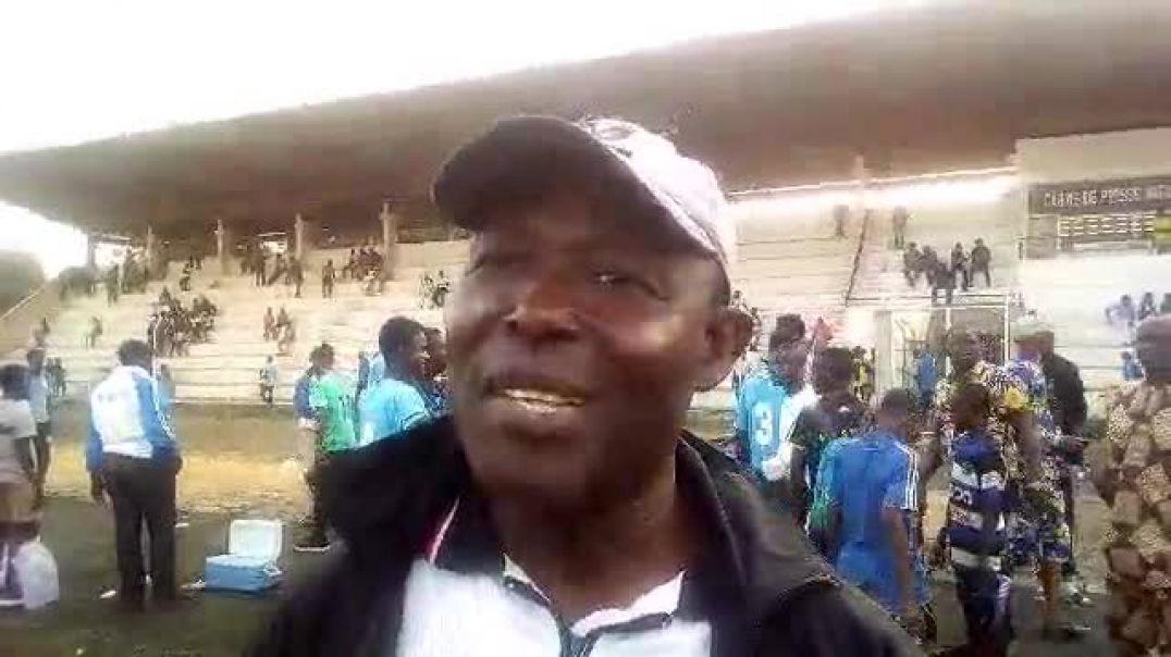 Coach Omer Gbegnon. Trinité Singbo
