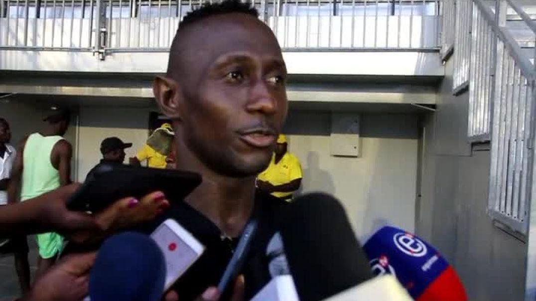 Ekwalla joueur de léopard de Douala par Vincent Kamto.