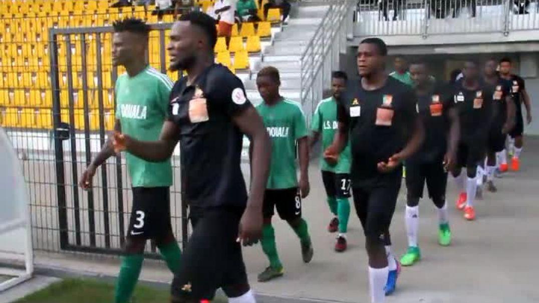 Entrée des Lion A prime  au stade annexe de la réunification de  de bependa  par Vincent Kamto