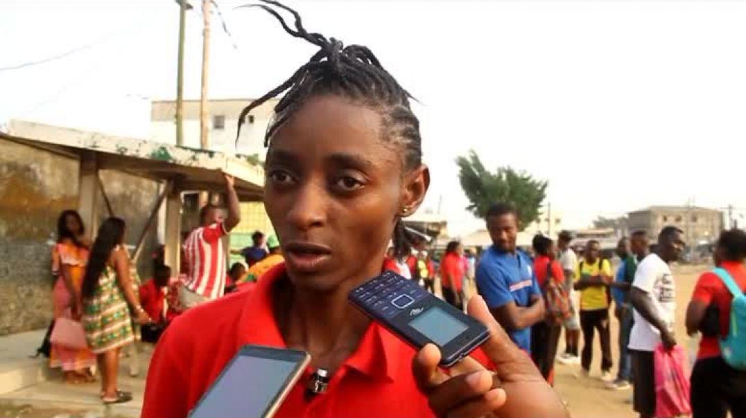 Endalet Endjeguele Émilienne  joueuse de Caïman fille de Douala  par Vincent Kamto