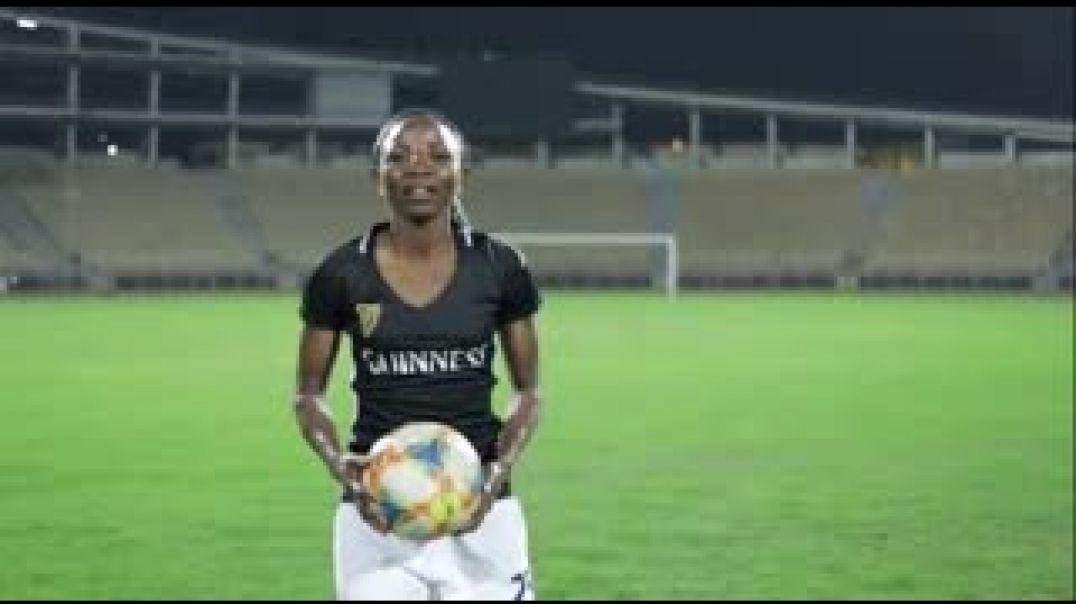 Ntchout Njoya nouvelle ambassadrice de la marque Guinness