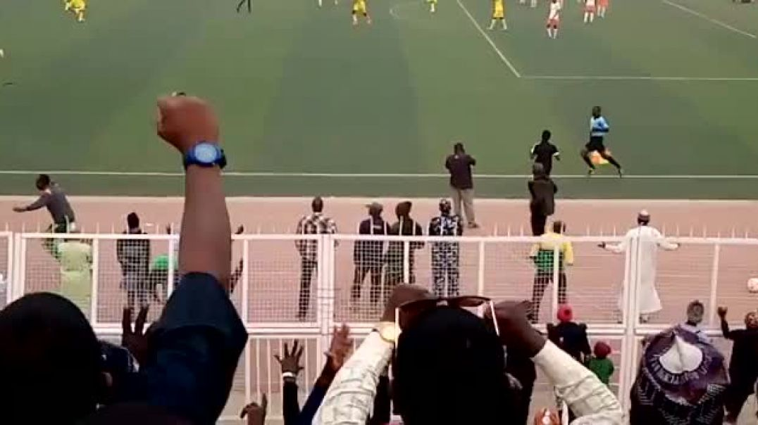Rabiu Ali goal against Akwa United by Evelyn Edefe