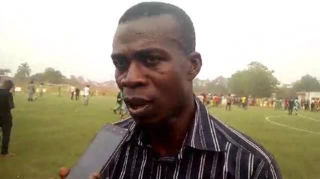 Lafiou Yessoufou, coach de Dragons FC. Trinité Singbo