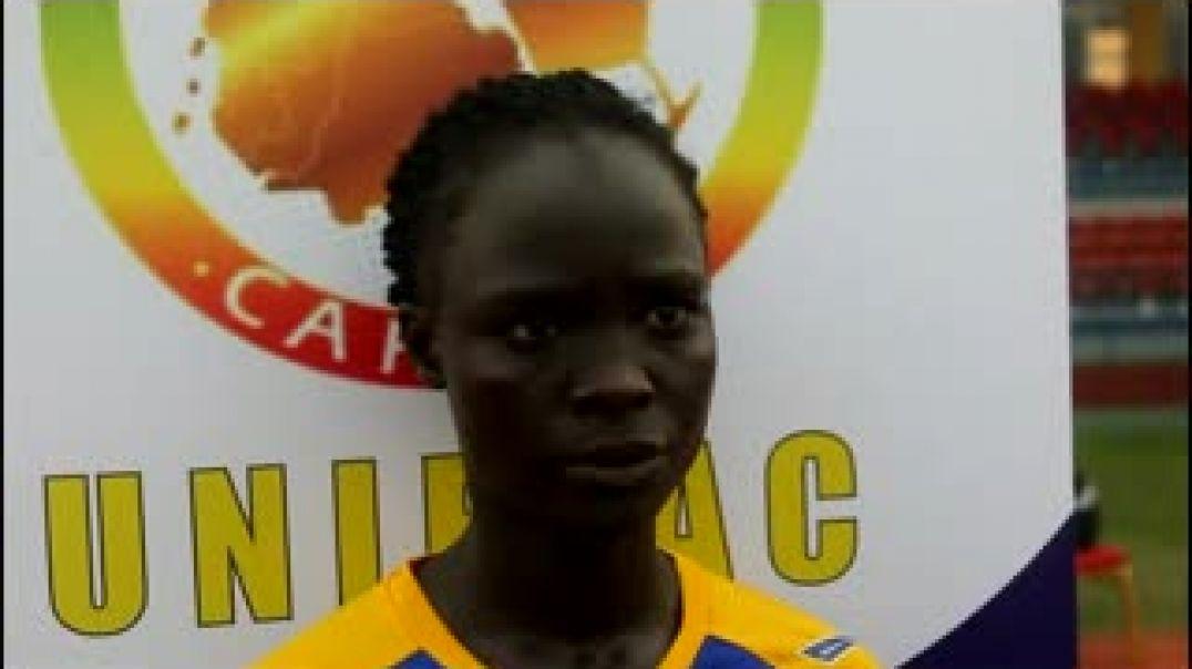 [GUINÉE EQUATORIALE] Interview de Salamatou Tchensou, ataquant TCHAD.mp4