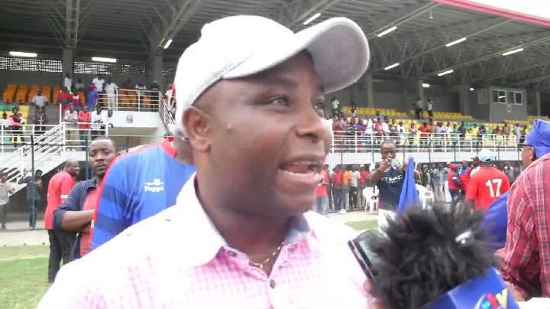 Lambo Justin Directeur Général de Bamboutos de Mbouda  par Vincent Kamto