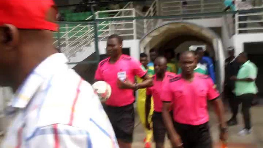 [Cameroun] début du Match Union Vs Panthère  par Vincent Kamto