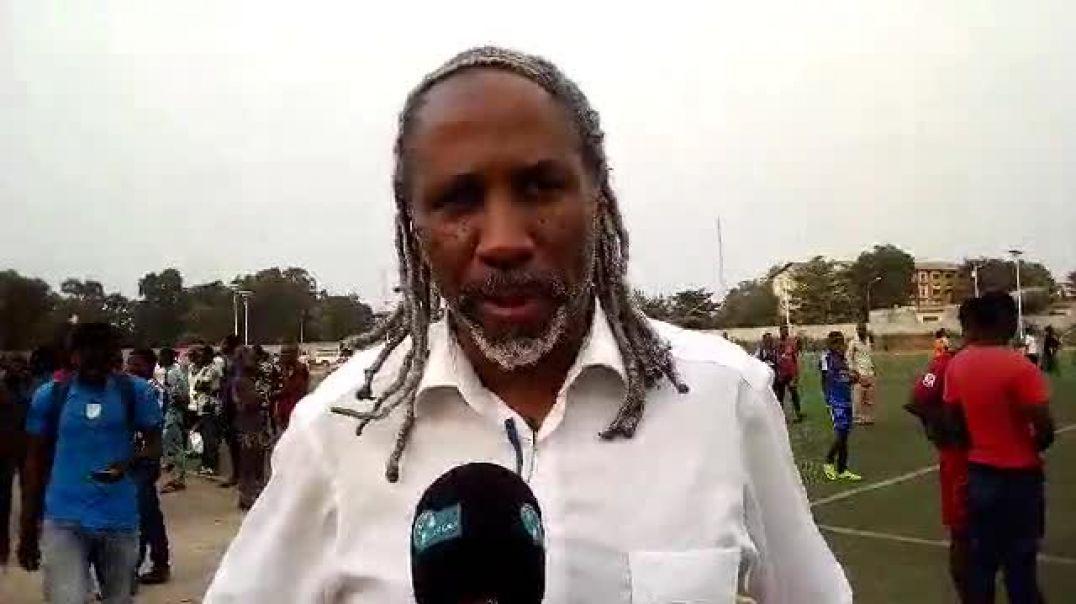 Jean-Marc Adjovi-Boco fait analyse le match entre ASPAC et AS Tonnerre. Trinité Singbo