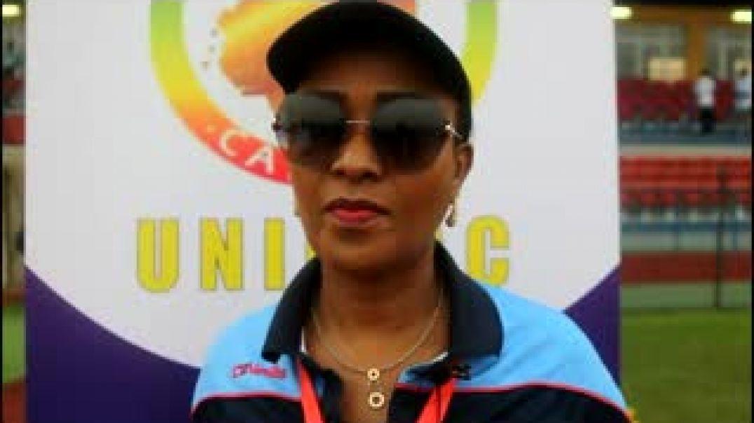 [GUINEE ÉQUATORIALE] Mme OLIVE KILOHA, vive pdte foot féminin RDC.mp4