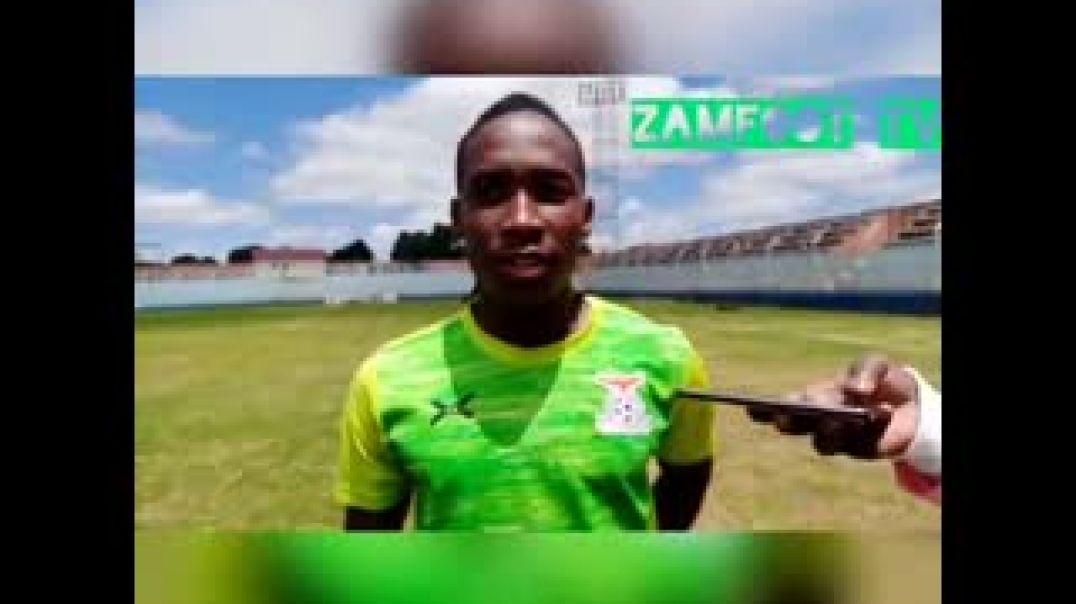 Itw de la capitaine féminine Zambienne