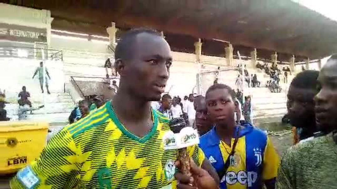 Nabil Yarou, capitaine Buffles FC. Trinité Singbo