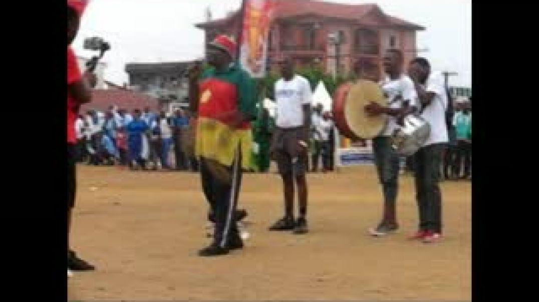 [CAMEROUN] NGANDO PIKET, mascotte des lions indomptables du Cameroun