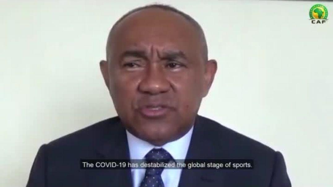 [CAMEROUN] Message du président de la CAF  covid 19  Par Vincent Kamto