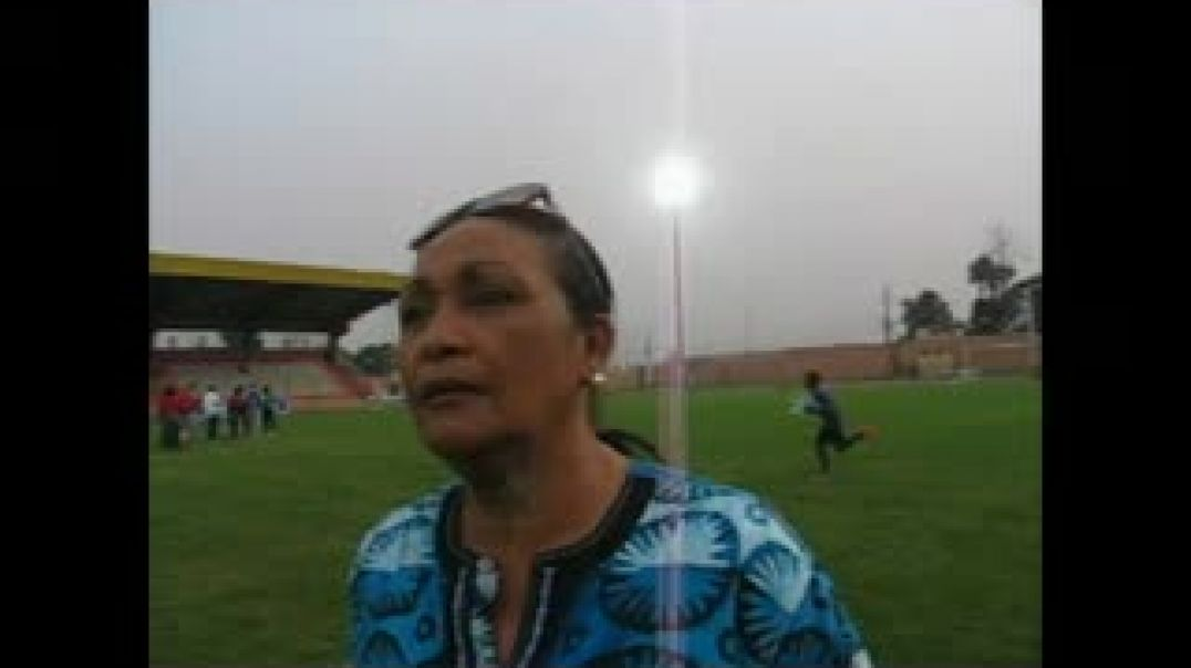 [CAMEROUN] Interview Mme Céline Eko, presidente de la commission de football féminin du Cameroun