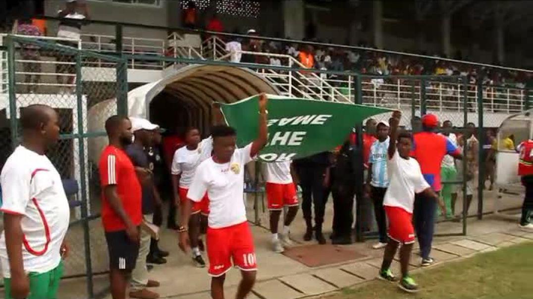 [CAMEROUN] début du Match bamboutos de Mbouda Vs coton sport de Garoua  a limbe par vincent Kamto