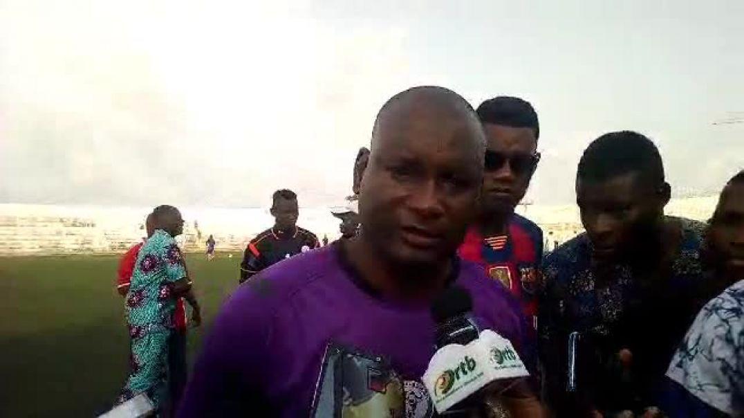 Coach Buffles FC après la défaites des siens. Trinité Singbo