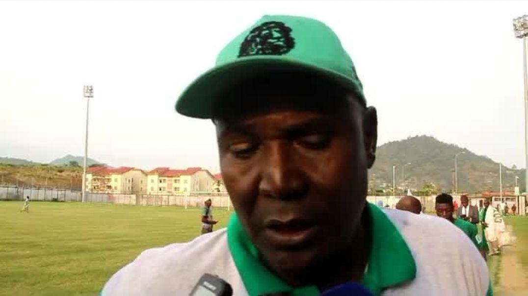 [CAMEROUN]   Réaction du coach de Coton sport de Garoua a Limbe par Vincent Kamto
