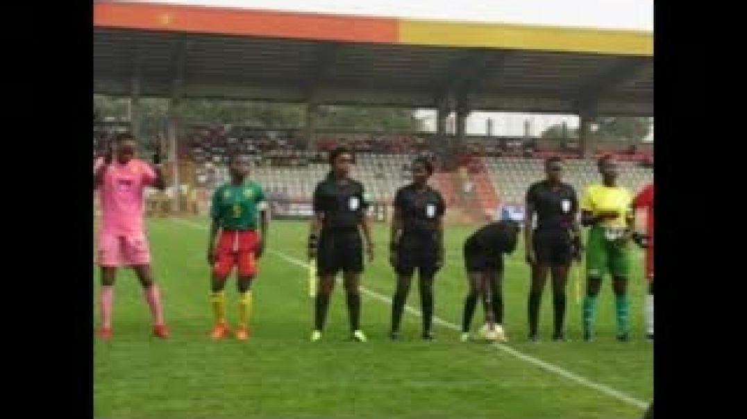 [CAMEROUN] stade de Yaoundé, match CAMEROUN - SAO TOME