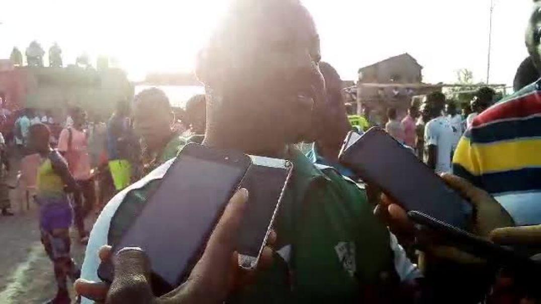 Coach UPI ONM, après l'une des rares victoires du club. Trinité Singbo