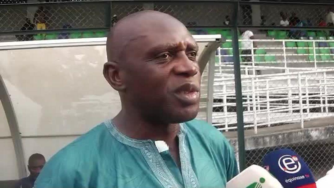 Cameroun bertin ebwelle Coach stade renard de Melong  par Vincent Kamto