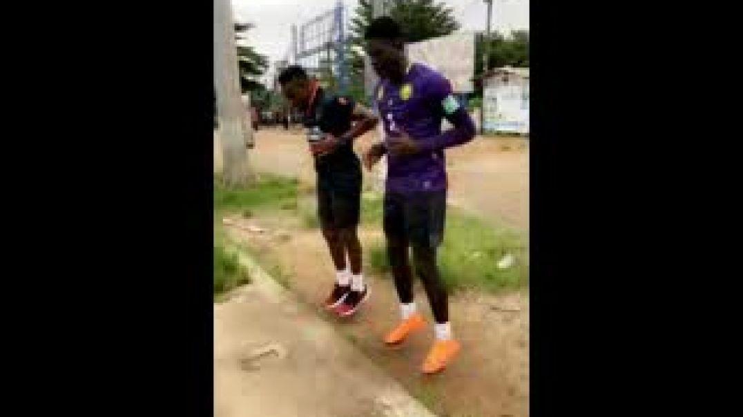 Mbiandja et Eyoum malgre le confinement