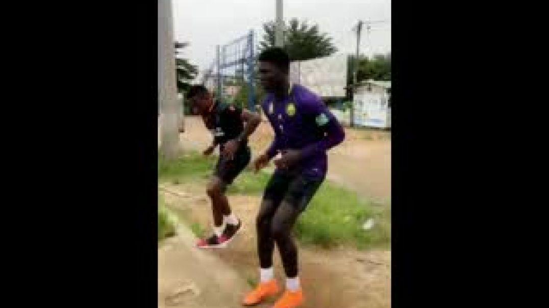 Eyoum et Mbiandja accélèrent le mouvement