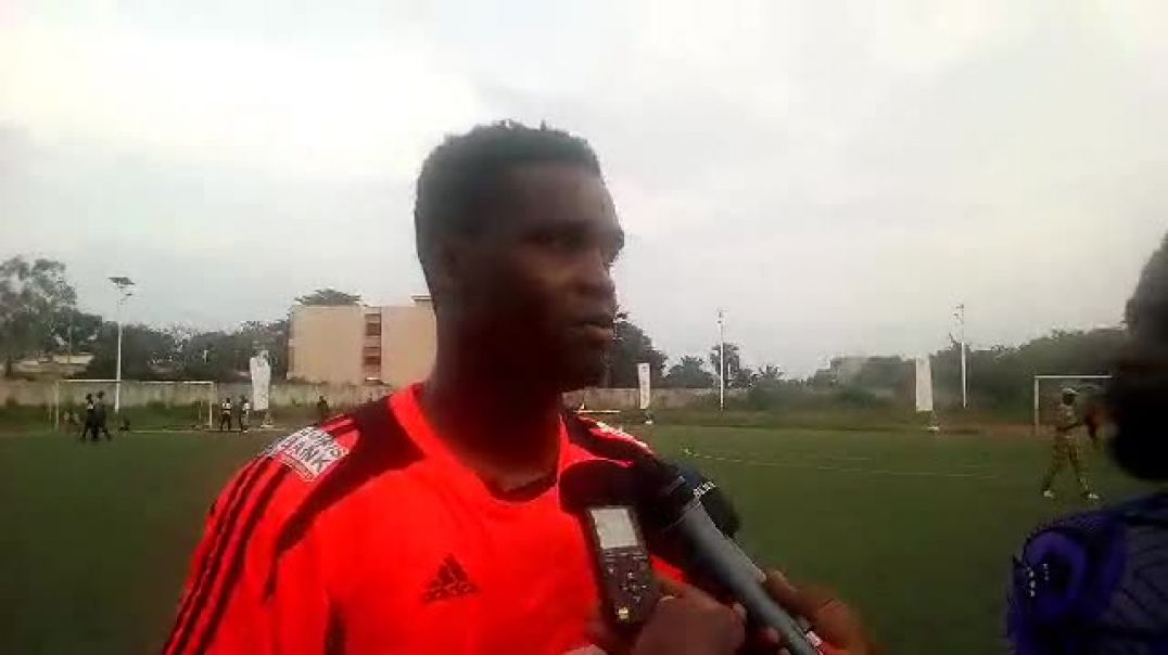 Chamsdeen Chaona, capitaine des Dragons FC. Trinité Singbo