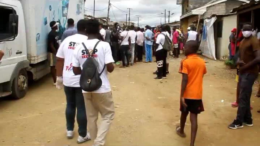 Cameroun La fondation Samuel etoo mers  le cap dans le quartier Tergal par Vincent Kamto