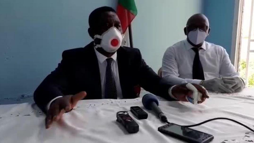 Cameroun le president de stade renard de melong se prononce par vincent kamto