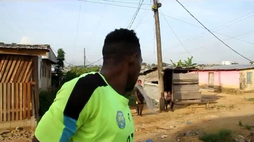 Cameroun Confiné avec Nzong Ulrich Gabriel Deux par Vincent Kamto