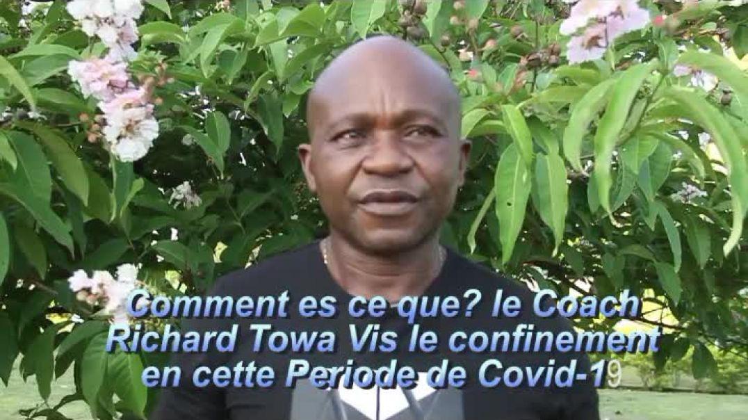 Cameroun Entretien avec le Coach Richard Towa De L USD par Vincent Kamto